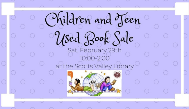 Scotts Valley Kids and Teen Book Sale