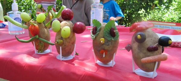 photo from summer potato head craft